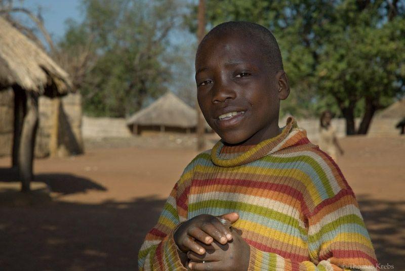 mukuni village boy