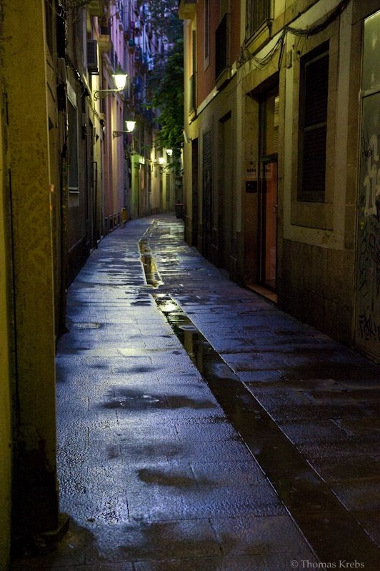 the streets of barcelona