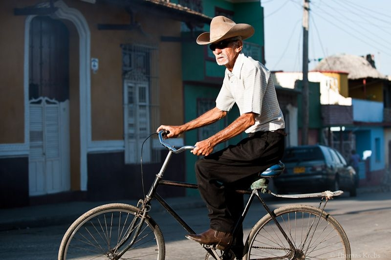 cowboy on bike