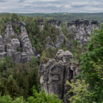 rock formations from bastei