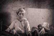 weaving woman